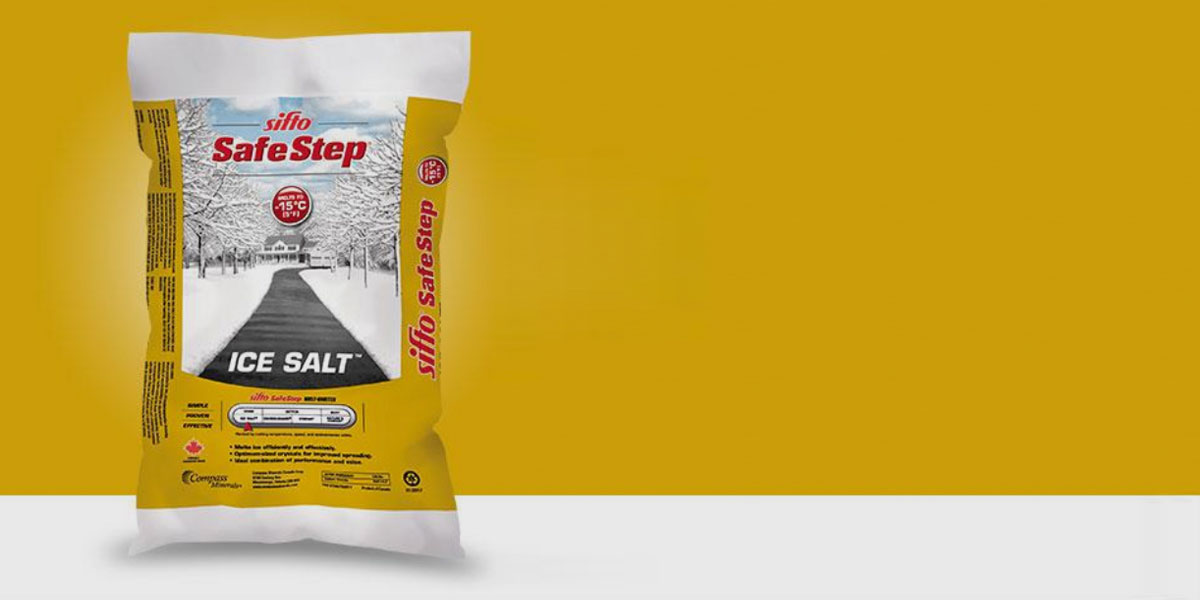 Bagged Rock Salt deicing