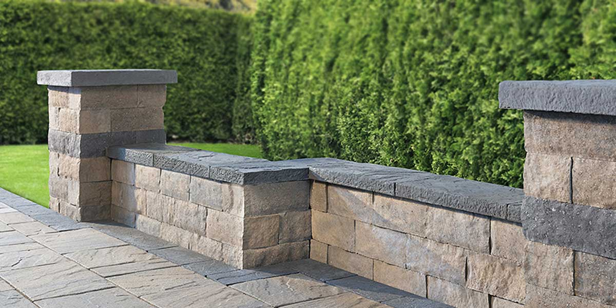 Hazelton Best Way Stone Walls Creative Landscape Depot
