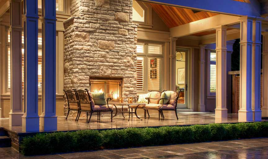 Exterior Fireplaces