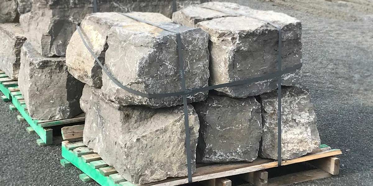 Guillotined Skidded Cubes Kawartha Brown 8 stones