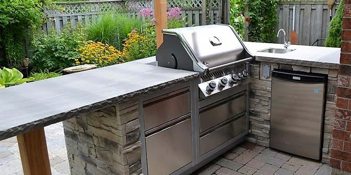 Imported Counter Tops/Jumbo Slabs countertop stone bbq area