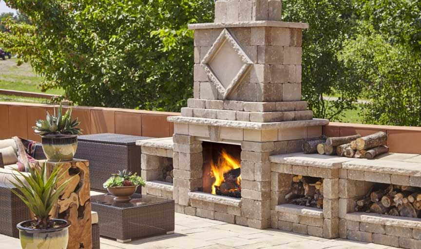 All Techo-Bloc Fire Units