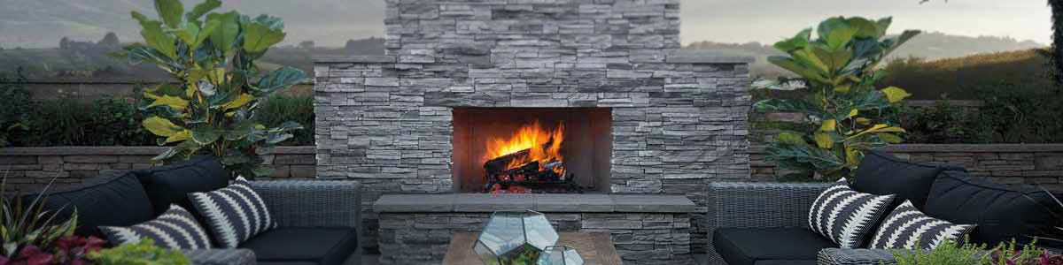Sherwood outdoor fireplace