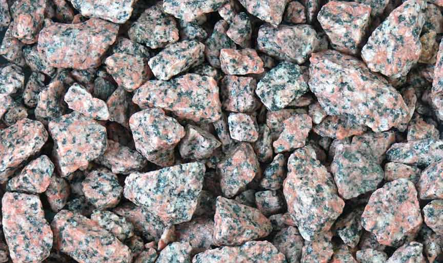 Red Granite (15% Black)