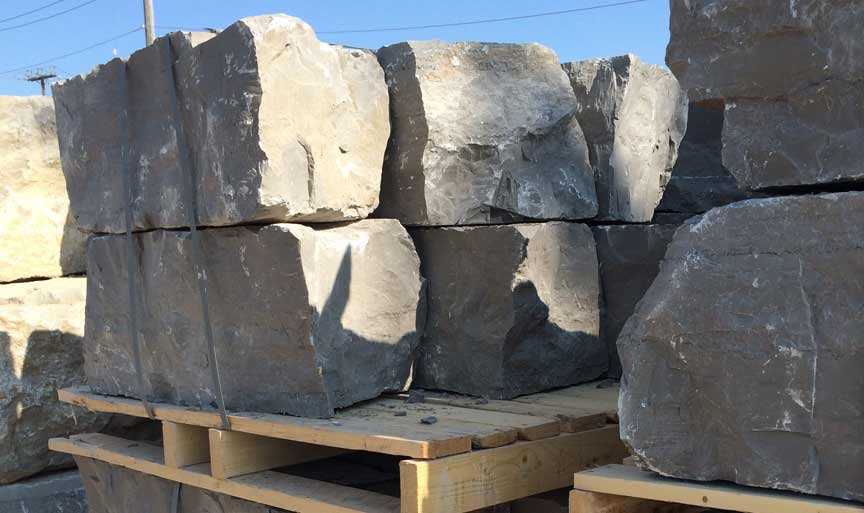 Guillotined Armour Stone